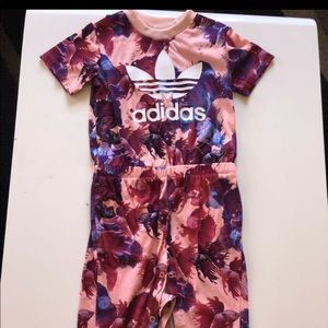 adidas One Pieces - Adidas Toddler Jumpsuit